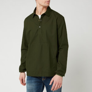 Barbour Beacon Men's Ripstop Popover Shirt - Forest