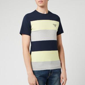 Barbour Beacon Men's Aller Stripe T-Shirt - Navy