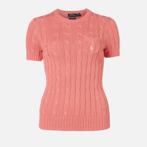 Polo Ralph Lauren Women's Short Sleeve Knit Top - Cottage Rose