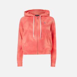 Polo Ralph Lauren Women's Tie Dye Zip Hoody - Amalfi Red
