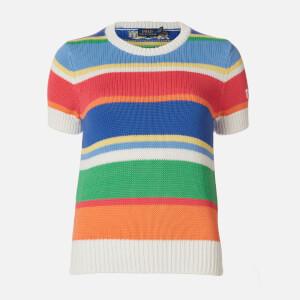 Polo Ralph Lauren Women's Classic Short Sleeve Sweatshirt - Multi