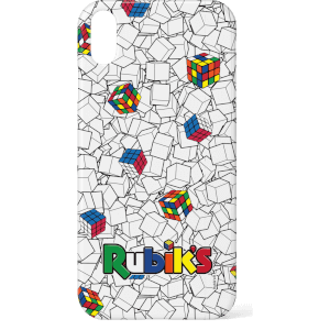 Rubik's Black & White Line Pattern Phone Case Phone Case for iPhone and Android