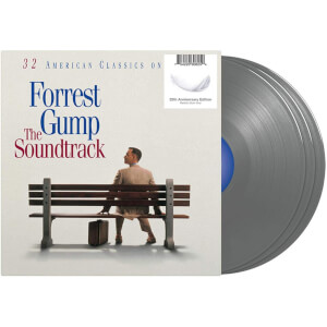 Forrest Gump: The Soundtrack 3x Silver LP