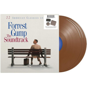 Forrest Gump: The Soundtrack 3x Box of Chocolates Brown LP