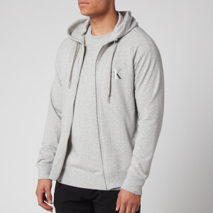 Calvin Klein Men's Full Zip Hoody - Grey Heather