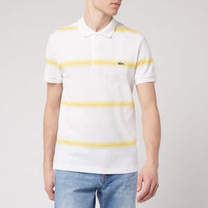Lacoste Men's Polo Shirt - Yellow/White
