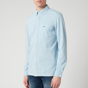 Lacoste Men's Pique Shirt - Light Blue Marl