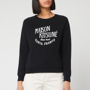 Maison Kitsuné Women's Sweatshirt Palais Royal - Black