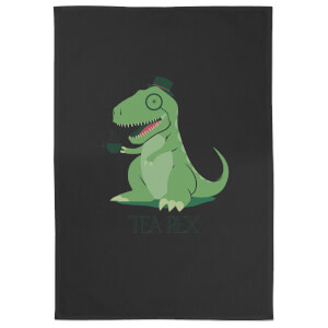 Tea Rex Cotton Black Tea Towel