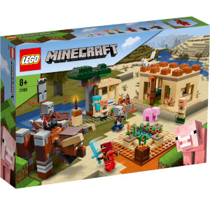 LEGO Minecraft: The Illager Raid Building Set (21160)