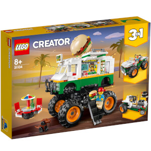LEGO Creator: 3in1 Monster Burger Truck Building Set (31104)