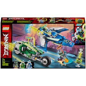 LEGO NINJAGO: Jay and Lloyd's Velocity Racers Set (71709)