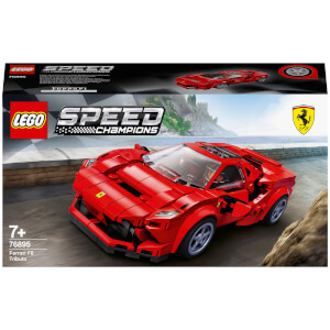 LEGO Speed Champions: Ferrari F8 Tributo Car Set (76895)