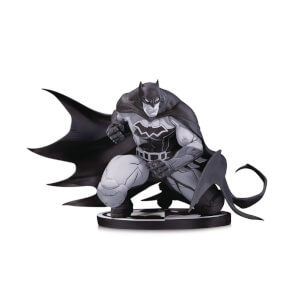 DC Collectibles DC Comics Batman Statue by Joe Madureira - Black & White Variant
