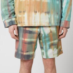Wooyoungmi Men's Tie Dye Shorts - Camel