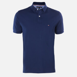 Tommy Hilfiger Men's Regular Polo Shirt - Blue Ink