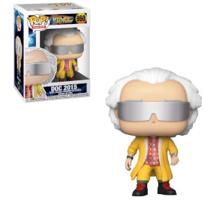 Figura Funko Pop! - Doc Emmett Brown 2015 - Regreso Al Futuro