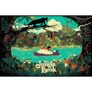 Disney's The Jungle Book by Raid71 Limited Edition Screenprint Print