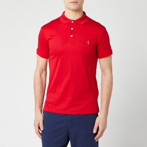 Polo Ralph Lauren Men's Pima Cotton Slim Fit Polo Shirt - RL 2000 Red