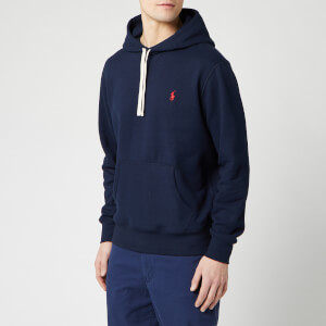 Polo Ralph Lauren Men's Fleece Hoodie - Cruise Navy