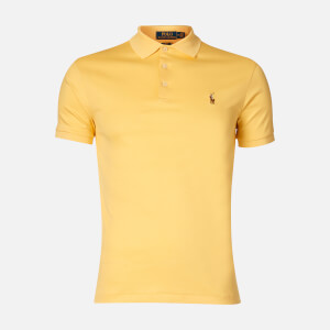 Polo Ralph Lauren Men's Pima Cotton Slim Fit Polo - Empire Yellow