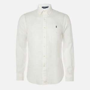 Polo Ralph Lauren Men's Long Sleeve Sport Shirt - White
