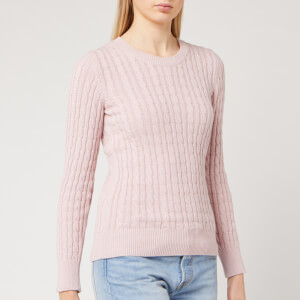 Superdry Women's Croyde Bay Knitted Jumper - Soft Pink