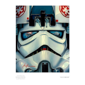 "Star Wars: The Empire Strikes Back ""AT-AT Driver"" Giclee by Christian Waggoner"