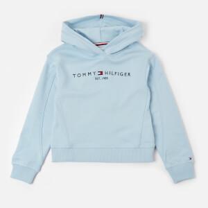 Tommy Kids Girls' Essential Hooded Sweatshirt - Calm Blue