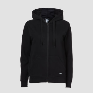 MP Damen Essentials Zip Through Hoodie - Schwarz