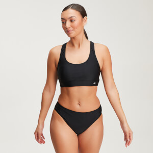 Top de bikini Essentials para mujer de MP - Negro