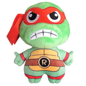 Kidrobot Teenage Mutant Ninja Turtles Raphael Phunny Plush