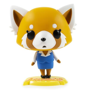 Kidrobot Aggretsuko Calm Medium Vinyl Figure