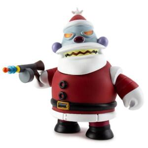 Kidrobot Futurama Naughty Robot Santa 6 Inch Medium Vinyl Figure