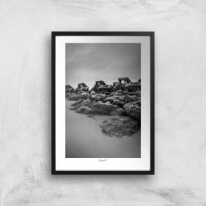 Wave Breaker, New Brighton Giclée Art Print