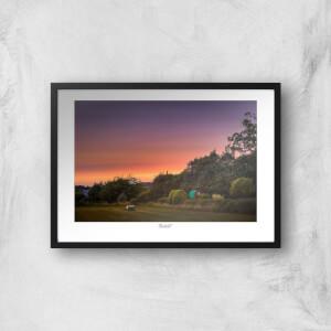 Beeston Sunset Giclée Art Print