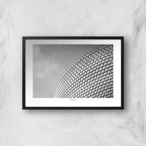 Birmingham Skyline Giclée Art Print