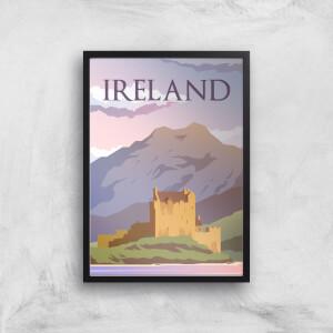 Visit... Ireland Giclée Art Print