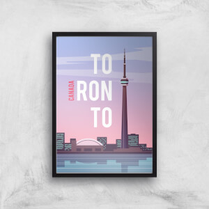 Visit... Toronto Giclée Art Print
