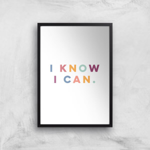 I Know I Can Giclée Art Print