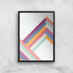 Mountain Range Giclée Art Print