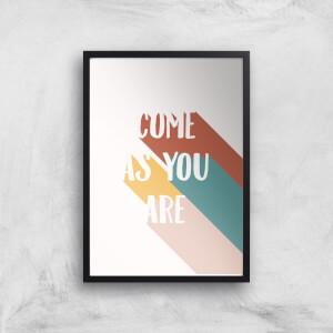 Come As You Are Giclée Art Print