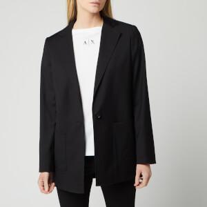 Armani Exchange Women's Blazer - Black