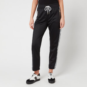 Armani Exchange Women's Sweatpants with Taping - Black
