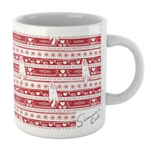 Simons Cat Christmas Mischief Mug