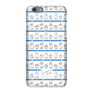 Simons Cat Lined up Cats Phone Case for iPhone and Android