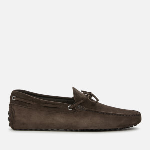 Tod's Men's Suede Driving Shoes - Moro