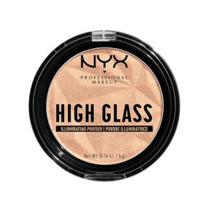 NYX Professional Makeup High Glass Illuminating Powder 4g (Various Shades)