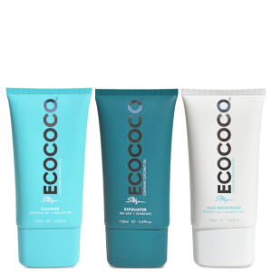 ECOCOCO Exfoliating Cleansing Routine