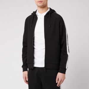 Emporio Armani Men's Tape Detail Hoody - Black